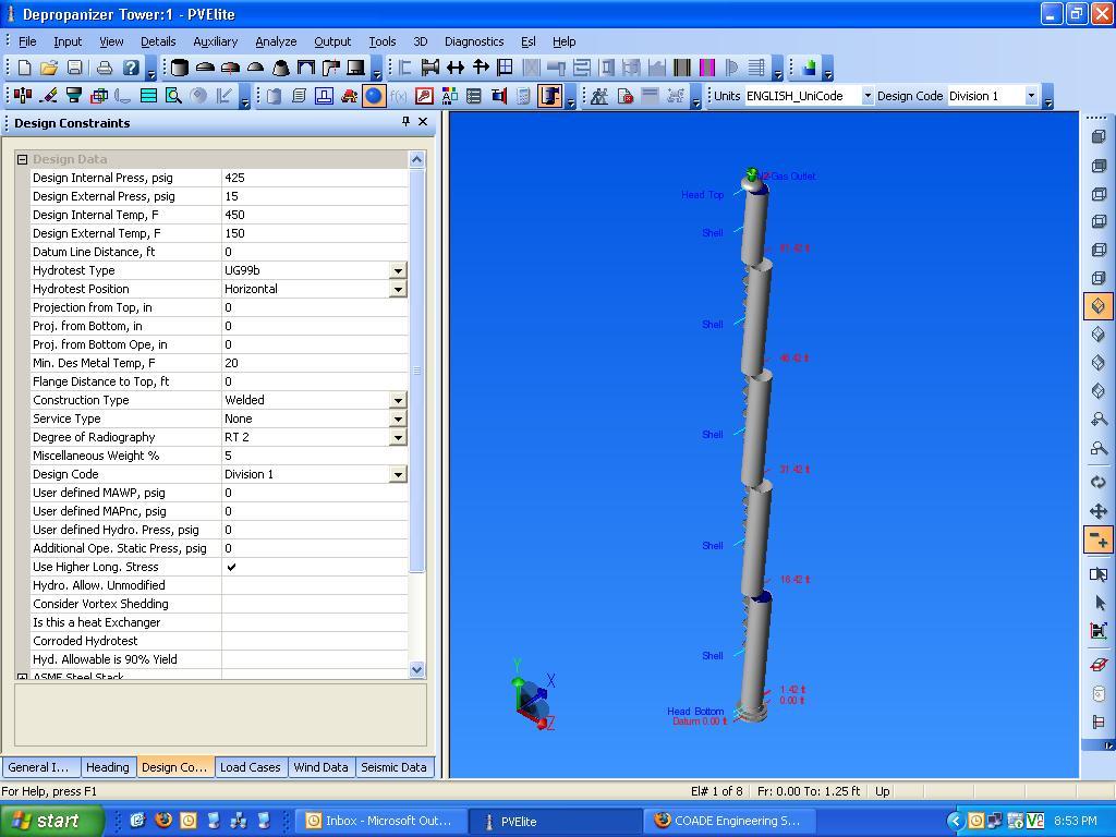 PV-Elite Graphics Error - Intergraph CADWorx & Analysis