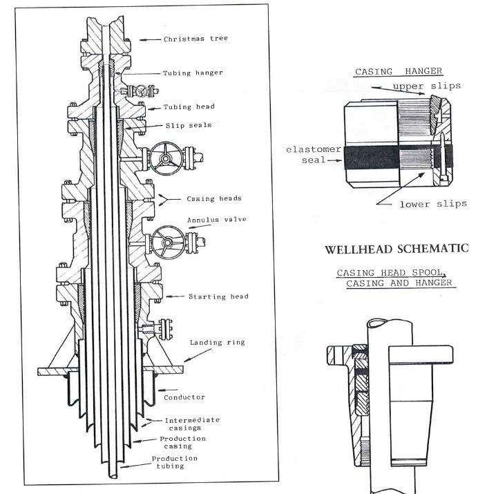 Wellhead Christmas Tree Diagram: Oil Wellhead Christmas Tree Movement (Onshore